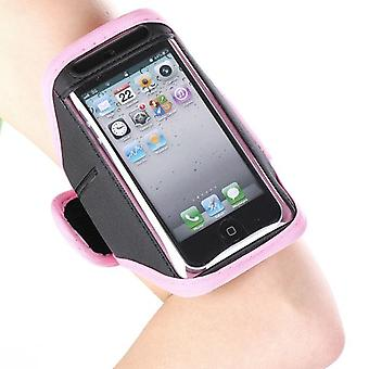 Sport armband for iPhone bag 5/5S (Pink)