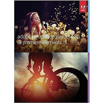 Adobe Photoshop & Premiere Elements 15 Full version, 1 license Mac OS, Windows Illustrator, Video editor