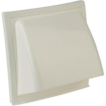 Extractor hood PVC Suitable for pipe diameter: 15 cm Wallair Exhaust hood, NW 150, white