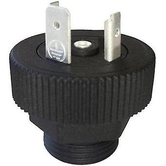 Hirschmann 931 298 006 GSP 2 M20 Connector Plug Black Number of pins:2 + PE