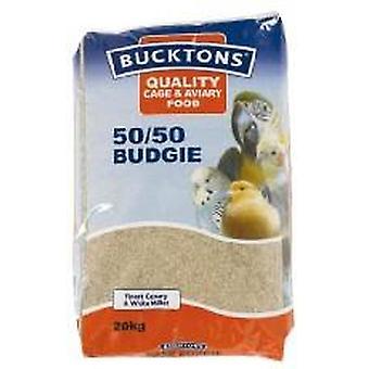 Bucktons Budgie 50/50 20kg