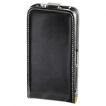 HAMA Mobile bag Flip-Front iPhone4s Leather Black