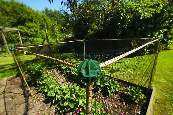 Fleksibel sukkerrør bolde pakke med 8 have frugt bure og Netting rammer