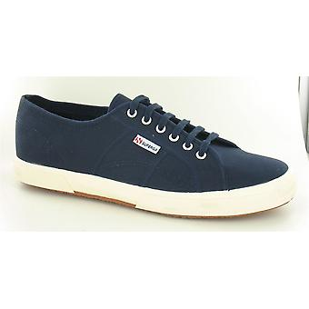 Mens Superga Canvas Lace Up Trainers '2750' - Navy, Size 13 UK