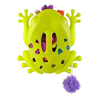 Boon Frog Pod Stores and organizes bath accessories and toys