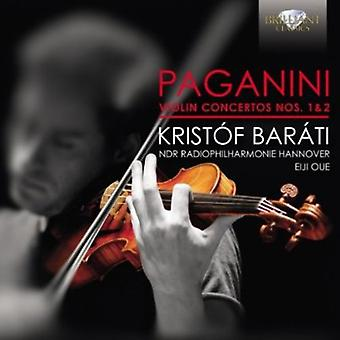 Paganini - Paganini: Skrzypce koncerty Nos. 1 & 2 [CD] USA import