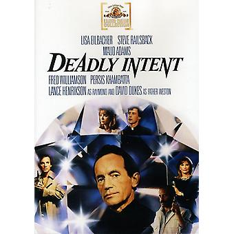 Deadly Intent [DVD] USA import