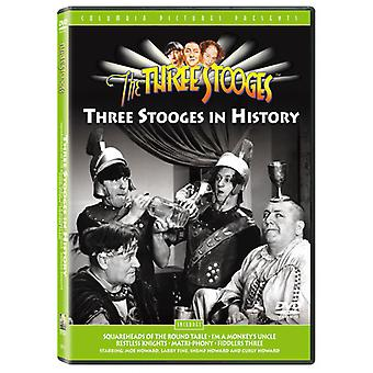 Three Stooges - Stooges in History [DVD] USA import