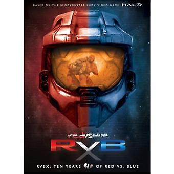 Rvbx: Ten Years of Red vs. Blue [DVD] USA import
