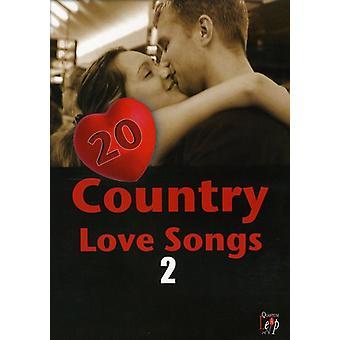 20 land kærlighedssange 2 [DVD] USA importerer