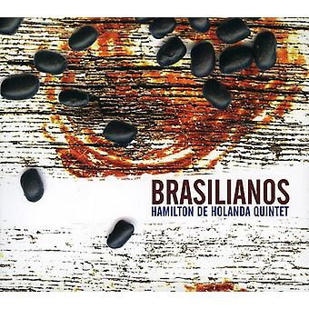 Hamilton De Holanda kvintet - Brasilianos [CD] USA importerer