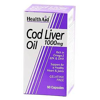 Health Aid 60cap Cod Liver Oil (Vitamines et suppléments , Multi-nutriments)