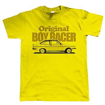 Vectorbomb, Mk2 Escort RS2000, Original Boy Racer, Mens Car T Shirt (S to 5XL)