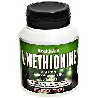 Health Aid L-Methionine 60COMP. Health Aid (Vitamins & supplements , Amino acids)