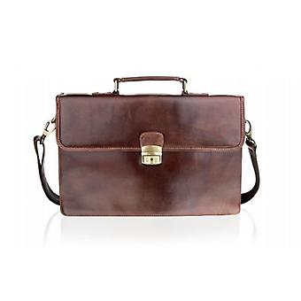 Woodland Leather Satchel valigetta