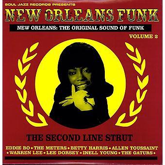 New Orleans Funk - Vol. 2-New Orleans Funk [Vinyl] USA importerer