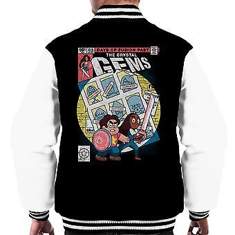 Days Of Fusion Past Steven Universe Men's Varsity Jacket