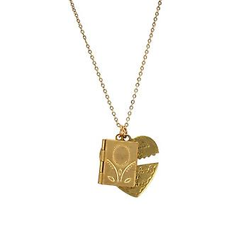 W.A.T Unlock Your Heart Pendant Necklace