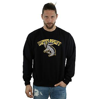 Harry Potter Men's Hufflepuff Sport Emblem Sweatshirt