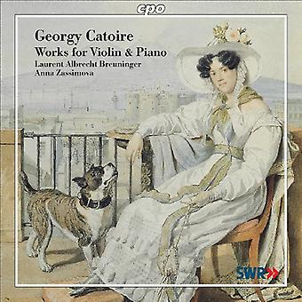 G. Catoire - Georgy Catoire: Værker for Violin & Piano [CD] USA import
