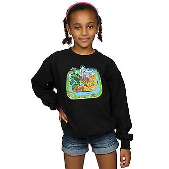 Disney Girls Zootropolis City Sweatshirt