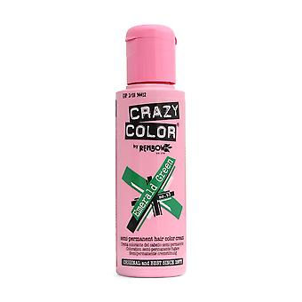 Renbow Crazy farve No.53 Emerald grøn semi-permanent creme 100 ml