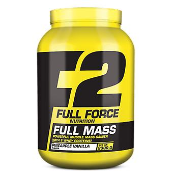 Full Force Full Mass 4400 Strawberry-Banana Gr (Sport , Muscle mass , Proteins)