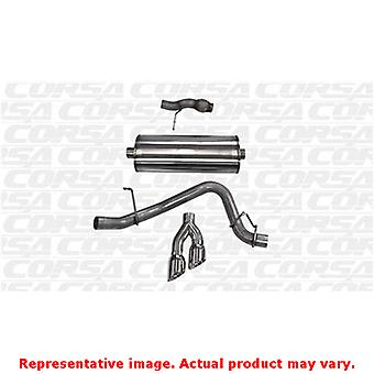 CORSA Performance Cat Back Exhaust 14859 Polished Fits:CHEVROLET 2015 - 2017 TA