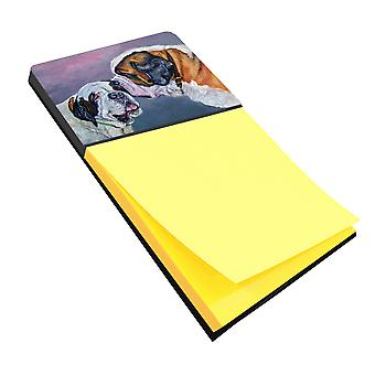 Carolines Treasures  7332SN Saint Bernard Whisperear Sticky Note Holder