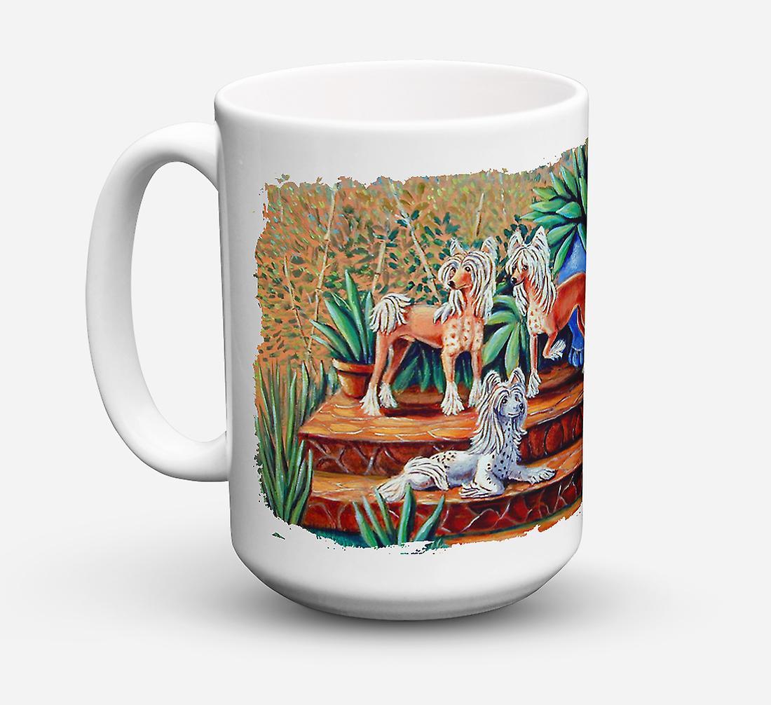 Céramique vaisselle Micro ondes Café Tasse Chinois Pour Oz Lave 15 Crested Sûre IW29YEDH