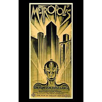 Metropolis-Film-Poster (11 x 17)