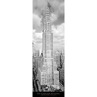 New York Chrysler Building Poster Poster Print