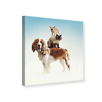 Canvas Print Animal Stack