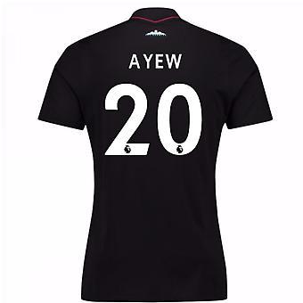 2017-18 West Ham Away Shirt (Ayew 20)