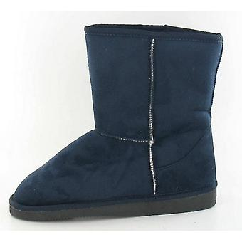 Spot On Childrens Girls Pull On Casual Winter Boots