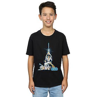 Star Wars Boys Luke and Leia Character T-Shirt