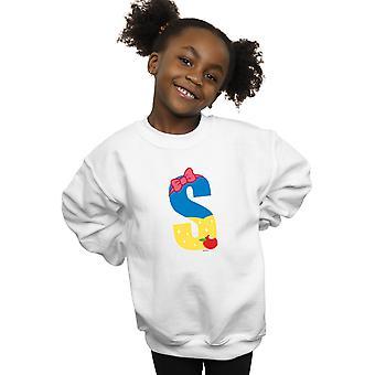 Disney Girls Alphabet S Is For Snow White Sweatshirt