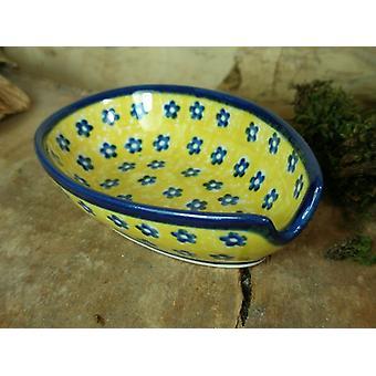 Spoon, 12.5 x 8.5 cm, tradition 20, Upper Lusatia ceramic - BSN 7591