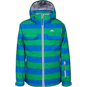 Trespass Boys Motley Waterproof Windproof Padded Shell Ski Jacket Coat