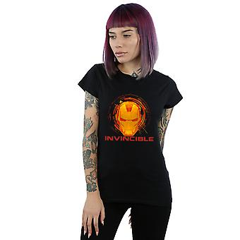 Marvel Women's Avengers Iron Man Invincible T-Shirt