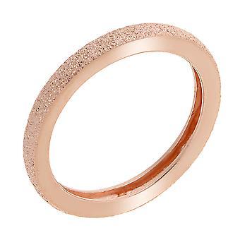 Orphelia plata 925 anillo brillante efecto rosa ZR-7073/1