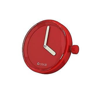O clock Uhr Tone rot