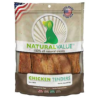 Natural Value Treats 16oz-Chicken Tenders