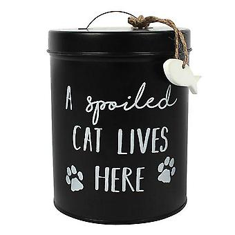 Something Different Cat Biscuit Tin