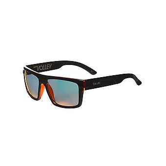 Carve Black-Clear Red Revo Volley Sunglasses