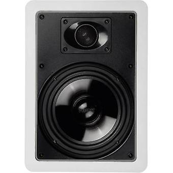 Magnat IWP 62 Flush mount haut-parleur 120 W 8 Ω blanc 1 PC (s)