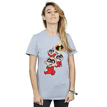 Disney Women's The Incredibles 2 Jak Jak Boyfriend Fit T-Shirt