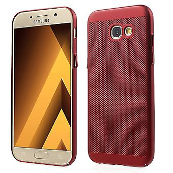Caja del teléfono celular para Samsung galaxia A3 2016 manga caja bolsa funda roja