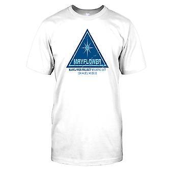 Mayflower projektu - bliskie spotkania trzeciego rodzaju męska koszulka