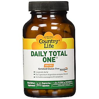 Country Life Daily Total One No Iron Vcap 60 Ct